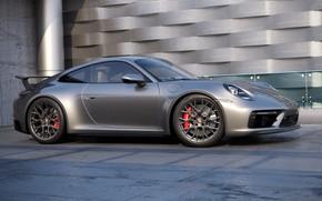 Picture 911, Porsche, Machine, Grey, Car, Auto, Render, Porsche 911, Rendering, Transport & Vehicles, by Russ …