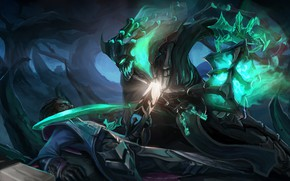 Picture League Of Legends, male, monster, League of Legends