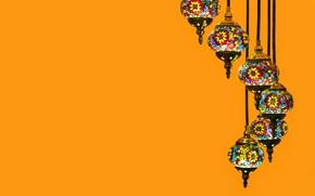 Picture lamp, lamp, Arabic, стиль Ближнего Востока, wu yi, арабский светильник, мозаичное стекло
