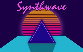 Picture Music, Pyramid, Background, Neon, 80's, Synth, Retrowave, Synthwave, New Retro Wave, Futuresynth, Sintav, Retrouve, Outrun