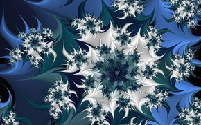Picture flower, pattern, pointed