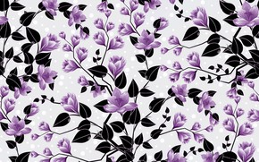 Picture flowers, background, pattern, buds, background, pattern, floral
