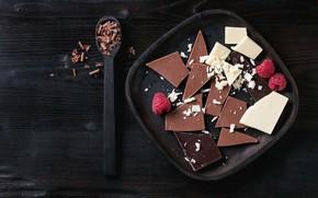 Picture white, berries, raspberry, black, chocolate, milk, Natasha Breen