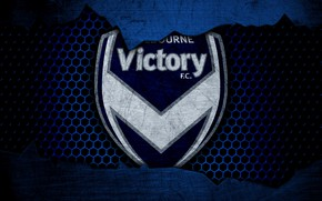 Picture wallpaper, sport, logo, football, Melbourne Victory