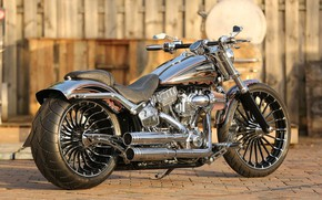 Picture Harley-Davidson, Custom, Motorbike, Breakout, H-D, CVO, Thunderbike, FXSBSE