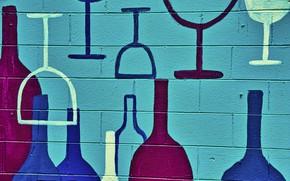 Picture wall, Wine Art, Wine Rack