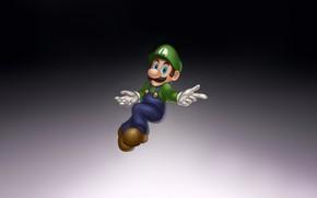 Picture Fantasy, Art, Mario, Style, Background, Illustration, Minimalism, Luigi, Character, Game Art, Nick Savino, Smash Brothers