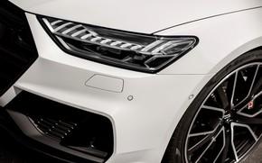 Picture Audi, bumper, Audi A7, 2019, headlight, S7 Sportback