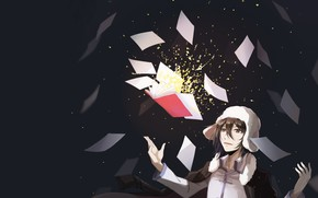 Picture book, guy, Bungou Stray Dogs, sheets of paper, Stray Dogs: A Literary Genius, Fyodor Dostoevsky, …