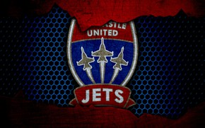 Picture wallpaper, sport, logo, football, Newcastle Jets