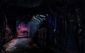 Picture Fantasy, Art, Art, Robot, Mechanisms, Fiction, Concept Art, Science Fiction, Environments, Dark Path, Cyberpunk project, ...