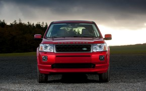 Picture Land Rover, 2010, front view, crossover, Freelander, SUV, Freelander 2, LR2