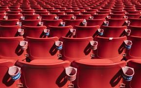 Picture Stadium, Chair, Lot, Tribune