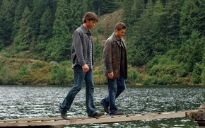 Picture Supernatural, Sverkhizluchenie, Sam Winchester, Dean Winchester