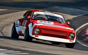 Picture coupe, track, Skoda, 1974, Skoda, two-door, 200 RS