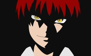 Picture look, guy, Karma, The class assassins, Ansatsu Kyoushitsu