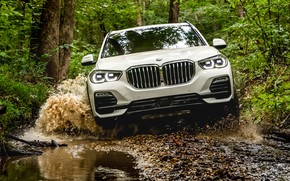 Picture the roads, front view, 2018, BMW X5, crossover, XDrive40i