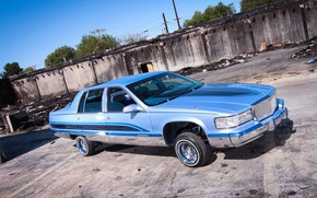 Picture Cadillac, Custom, Vehicle, Modified, Cadillac Fleetwood Brougham
