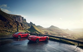 Picture Porsche, Cayman, Boxster, 718, 2019, Boxster T, Cayman T