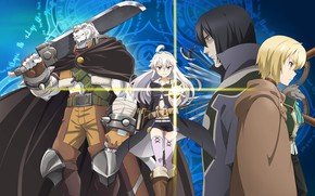 Picture anime, art, characters, Grimoire Of Zero, Book magic for beginners, Zero kara Hajimeru Mahou no …