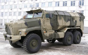 Picture Armored car, The Russian Army, Ural-63099, Typhoon-