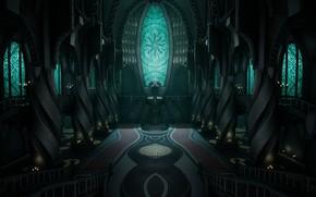 Picture Church, temple, Dead Space, religion, Dead Space 2, church, temple, marker, religion, obelisks, Unitology, Unitology