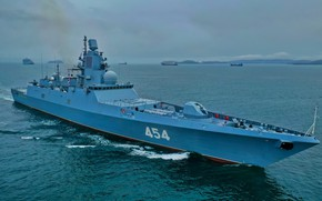 Picture ship, frigate, guard, Admiral Of The Soviet Navy Gorshkov Sousa