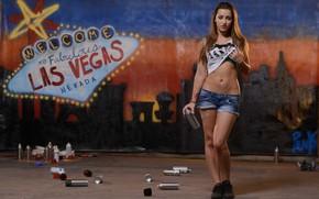 Picture girl, graffiti, las vegas, dani daniels, porn star