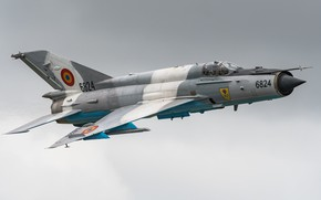 Picture Fighter, Pilot, The MiG-21, OKB Mikoyan and Gurevich, The BBC Romania
