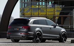 Picture Audi, TDI, 2012, V12, Quattro, SUV, Audi Q7, in the Parking lot, Fostla, Q7