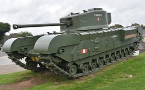 Picture Mk.VII, Churchill, Churchill, Heavy infantry tank