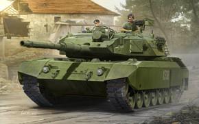Picture Tank, Leopard, Tankers, Armor, Leopard C1