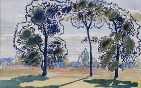 Picture Untitled, Charles Ephraim Burchfield, 1916 01