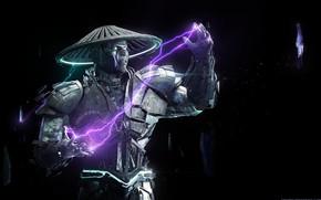 Picture Mortal Kombat, Cyborg, Raiden