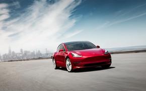 Picture Tesla, 2018, Model 3