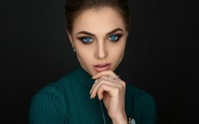 Picture face, portrait, Girl, Dmitry Medved, Ananda Dubovskaya