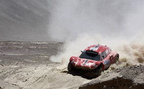 Picture sand, red, desert, dust, rally, rally, Buggy, Fast&Speed