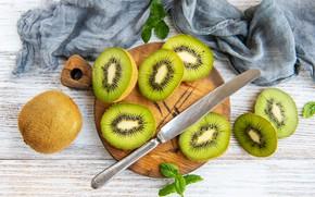 Picture kiwi, fruit, cutting Board, Olena Rudo