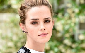 Picture makeup, actress, Emma Watson, Emma Watson, model, hair, model, actress