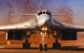Picture The plane, USSR, Russia, Aviation, BBC, Bomber, Tupolev, Tu 160, The plane, The Tu-160, Tu-160, ...
