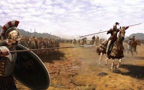 Wallpaper weapons, armor, battle, warrior, Rider