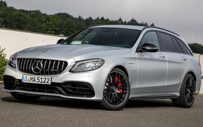 Picture 2018, C 63, Mercedes-AMG, S Estate, 2018 Mercedes-AMG C 63 S Estate