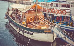 Picture Marina, sailboat, ships, pier, LONDON, marina, sailboat