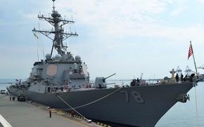 Picture destroyer, porter, ddg-78