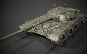 Picture USSR, Main battle tank, T-64A