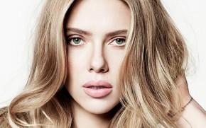Picture look, face, portrait, makeup, actress, Scarlett Johansson, singer, Scarlett Johansson, hair