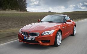 Picture field, speed, BMW, Roadster, 2013, E89, BMW Z4, Z4, sDrive35is