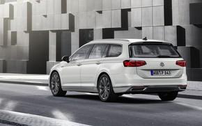 Picture street, Volkswagen, universal, GTE, Passat, Variant, 2019