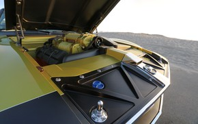 Picture The hood, Engine, Muscle car, 1972, Classic car, Sports car, AMC, V8, AMC Javelin, By …