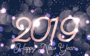 Picture background, holiday, New year, 2019